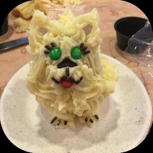 Puppy CupCake